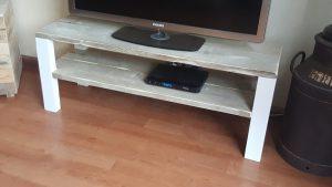 rbhoutwerk tv-meubel steigerhout