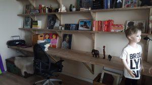 rbhoutwerk bureau steigerhout